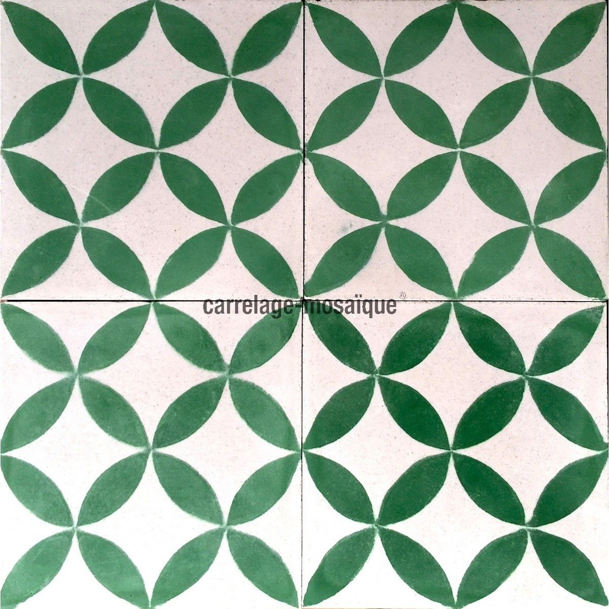 Carreau ciment 1m2 modele sampa vert carrelage mosaique carrelage et carreaux ciment tiles - Mosaique et carrelage ...