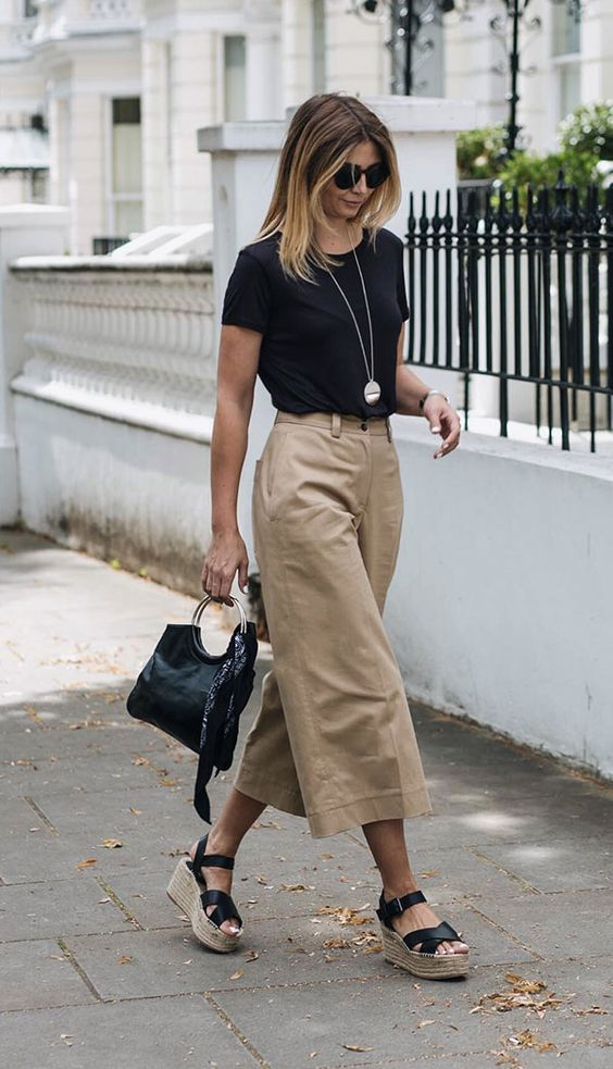 7 Tips on How to Wear a Basic Tee More Fashionable #howtowear