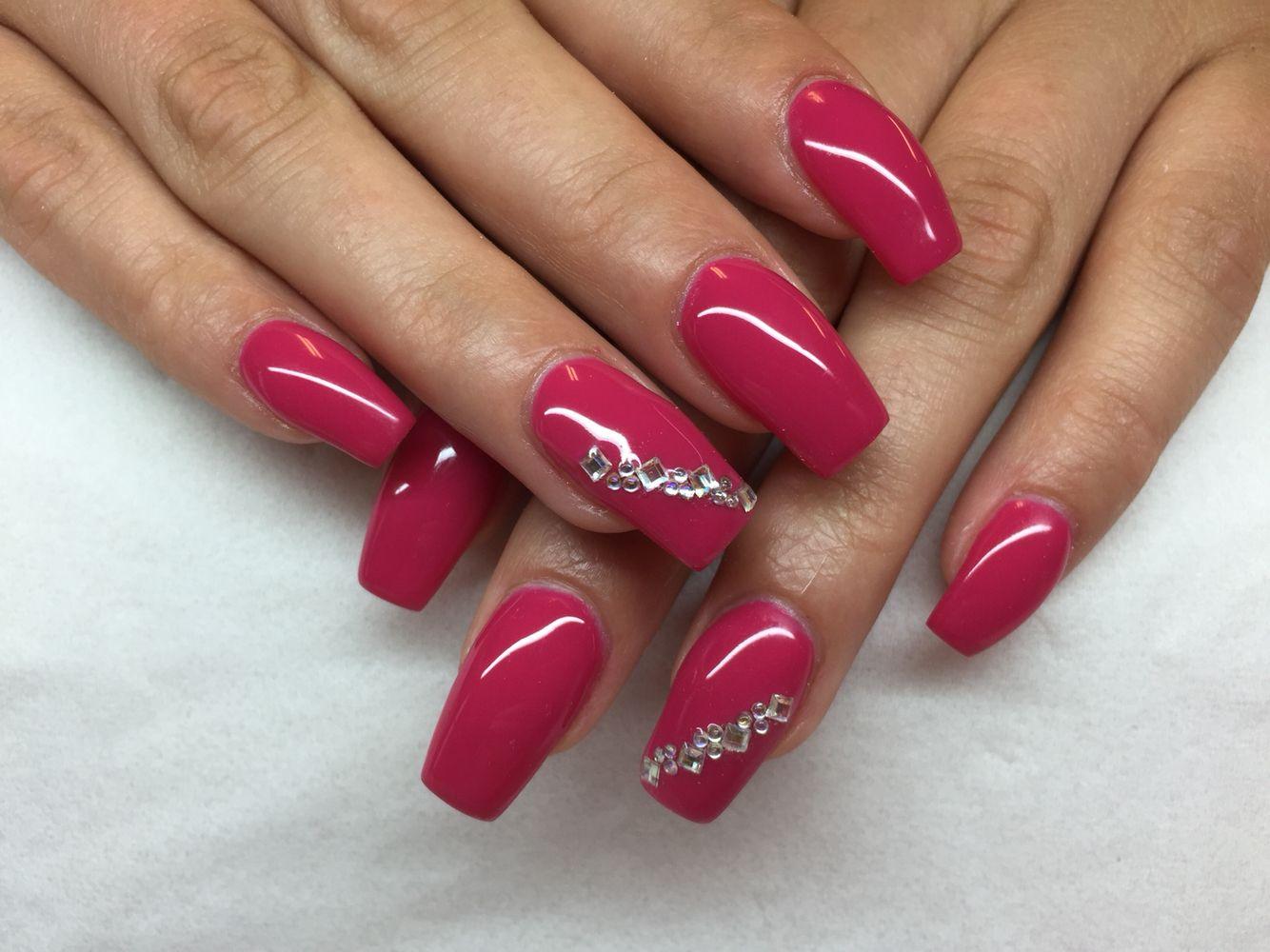 ♕PINTEREST:💎KIANIA💎 | Long nail designs, Pink nails, Nails