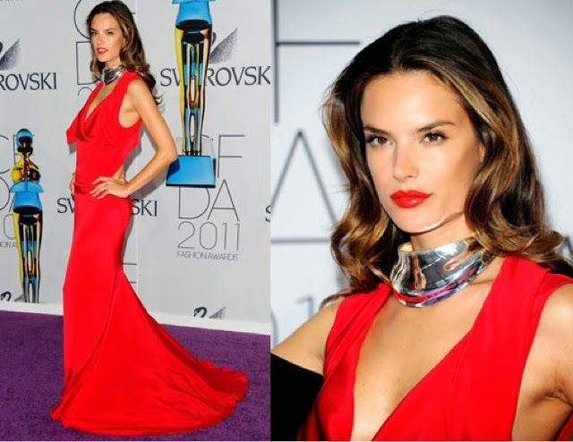 How to Chic: 16 ALESSANDRA AMBROSIO RED CARPET STYLES