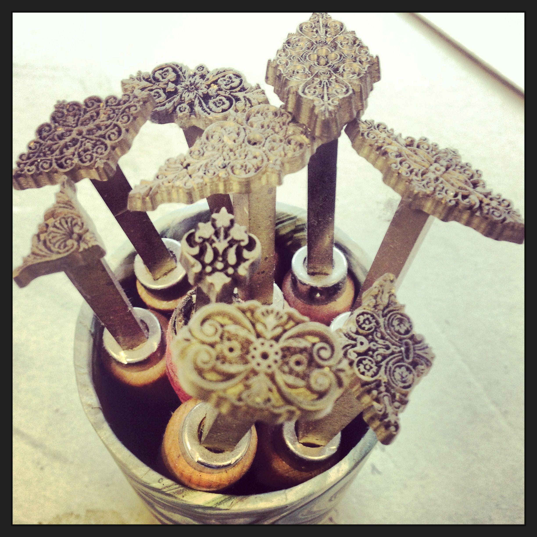 Bookbinding Tools - Gold Tooling Tools