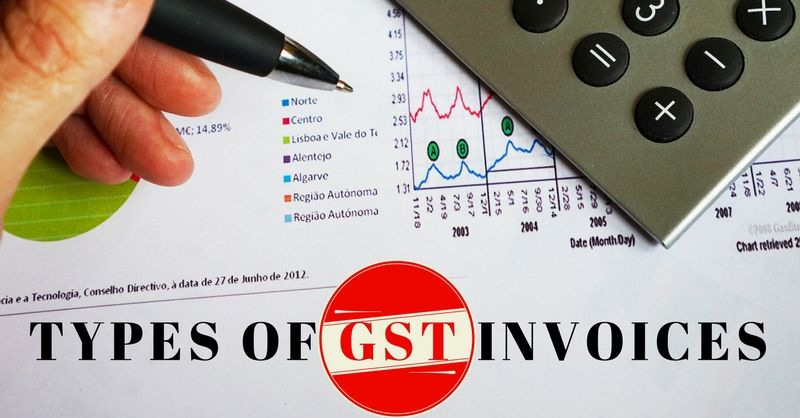Types Of Gst Invoices And Vouchers Prescribed For Different