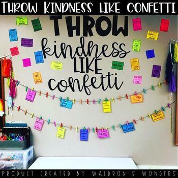 Throw Kindness Like Confetti Board