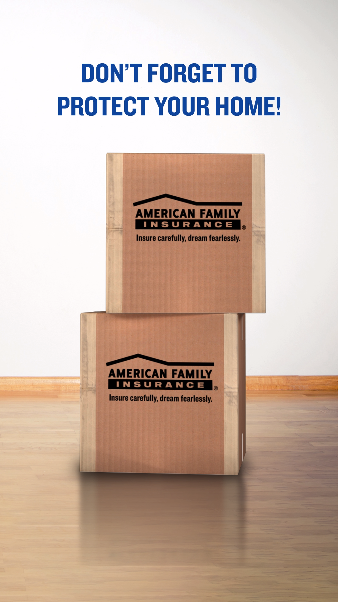 You've worked hard for your new home. Let us help protect