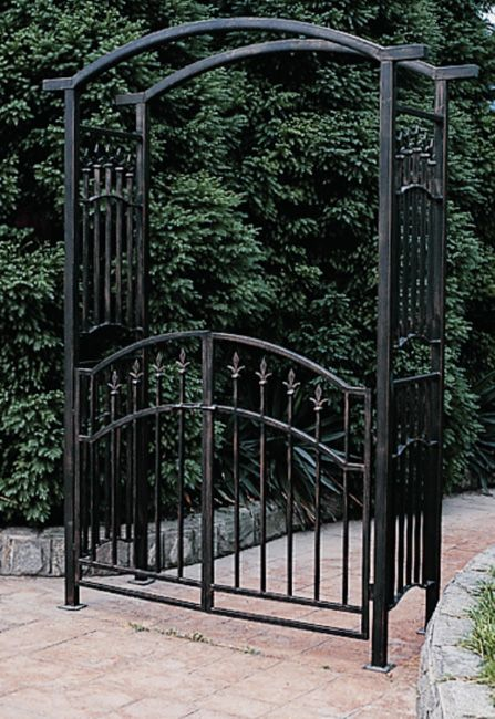 Orleans Wrought Iron Garden Arbor Wrought Iron Arbors