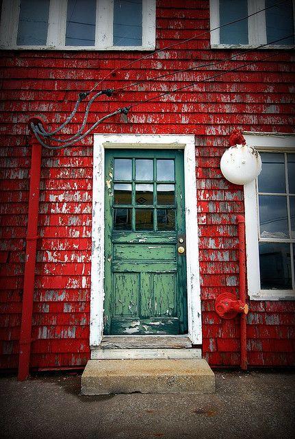 Little Green Door Green Door Gorgeous Doors Cozy House