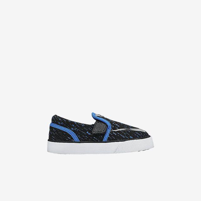 the latest 0e919 be1ea Nike Toki Slip-On Canvas Print (2c-10c) Infant Toddler Boys  Shoe. Nike  Store