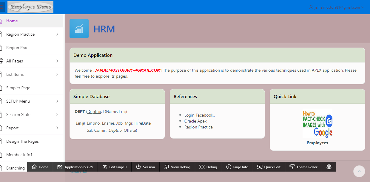 Mostofajamal I Will Do The Oracle Apex Application Develop Or Customize For 30 On Fiverr Com Oracle Apex Oracle Development