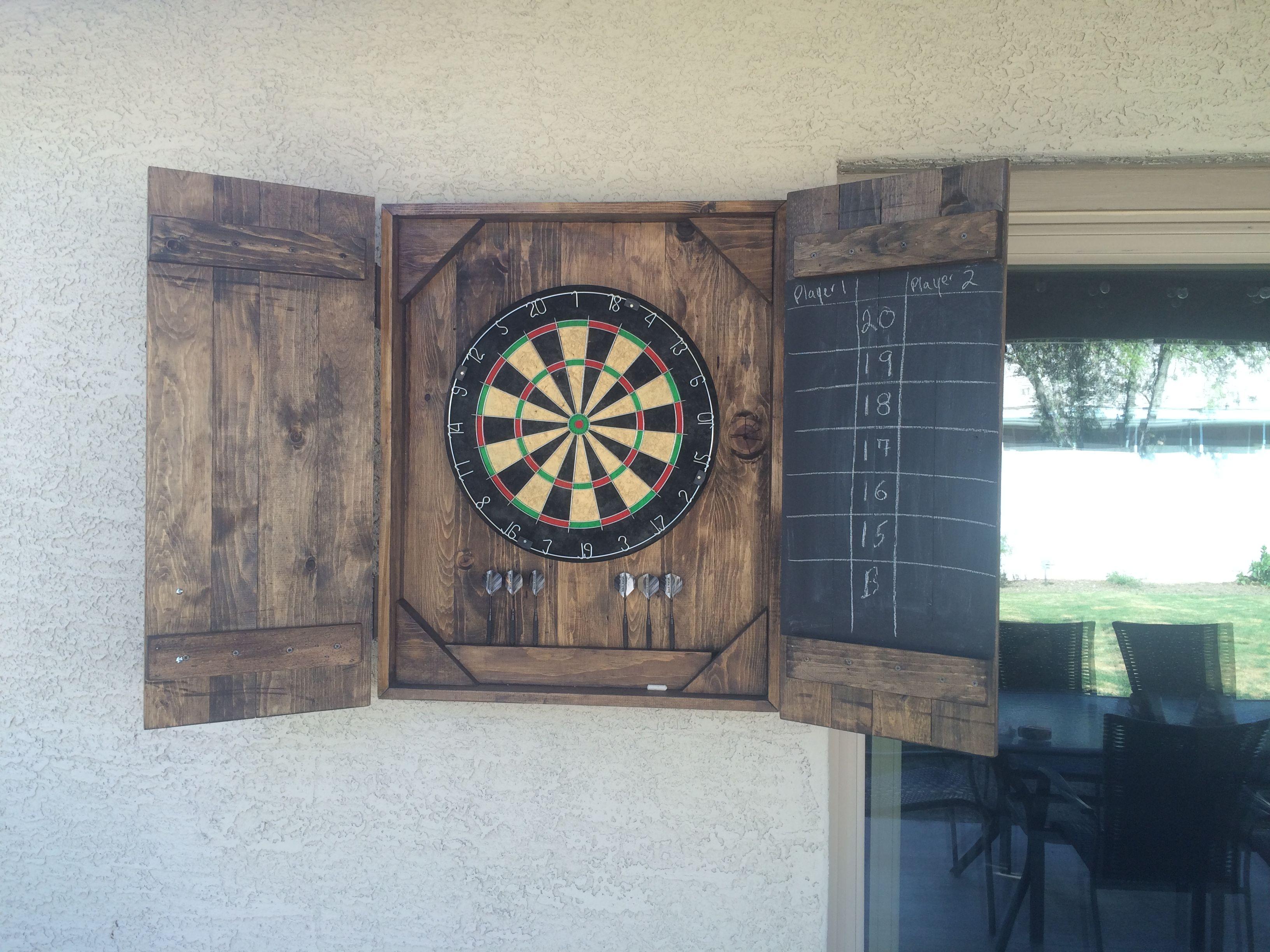 Cool Diy Dart Board Case Diy Home Decor Bedroom Dart Board