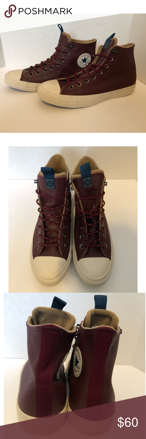 Inapropiado Banquete nadar  Converse All Star Desert Storm Leather High Tops | Leather high tops, Converse  all star, Converse