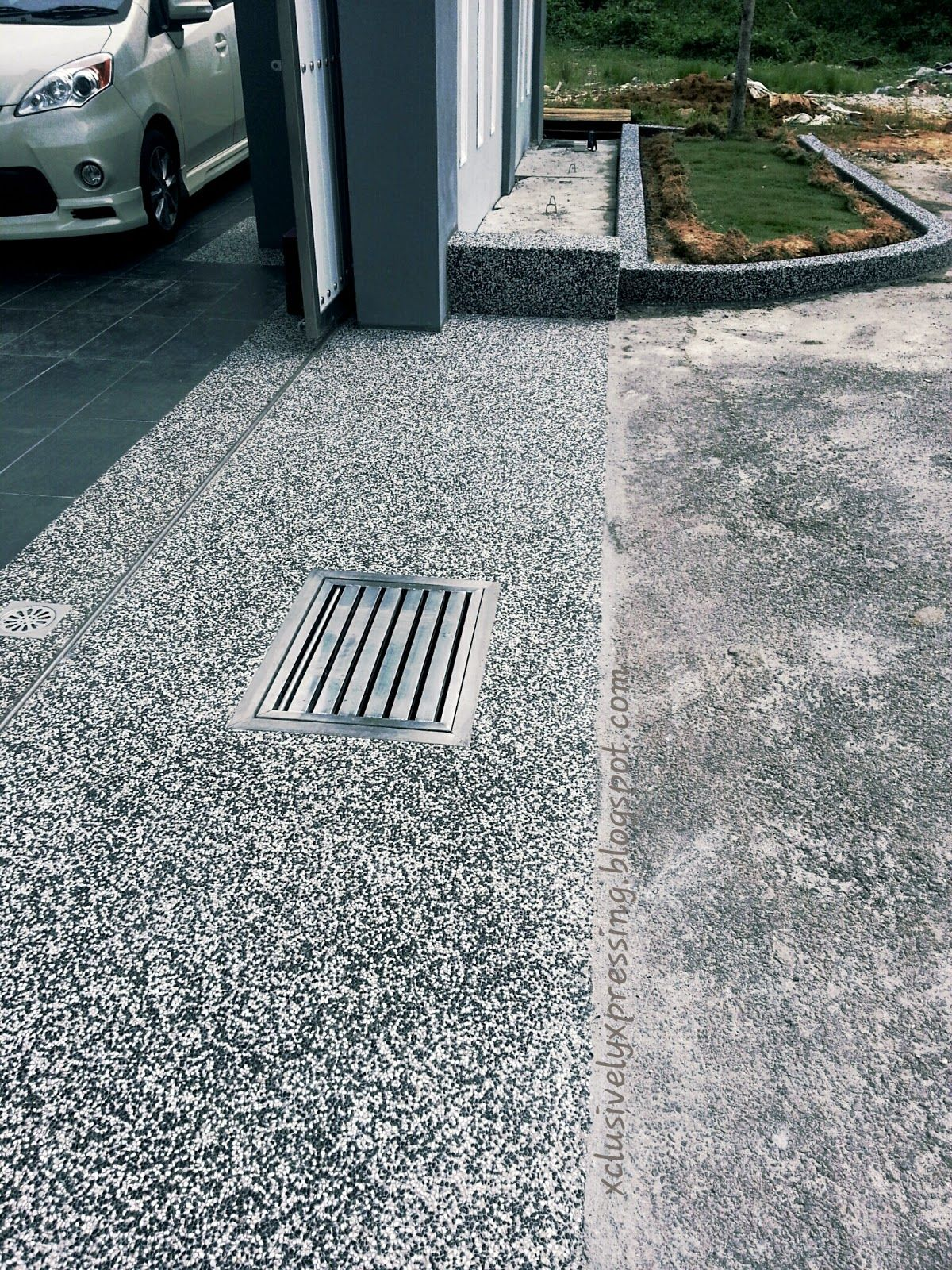Pebble Wash For Car Porch Google Search Porch Materials Porch Pebbles