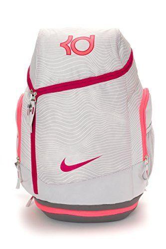 Backpack. Football. Backpacking. Satchel. Nike KD Max Air Back Pack Space  Light Ash Grey Fuchsia Force BA4853-062 afbf507143ad7