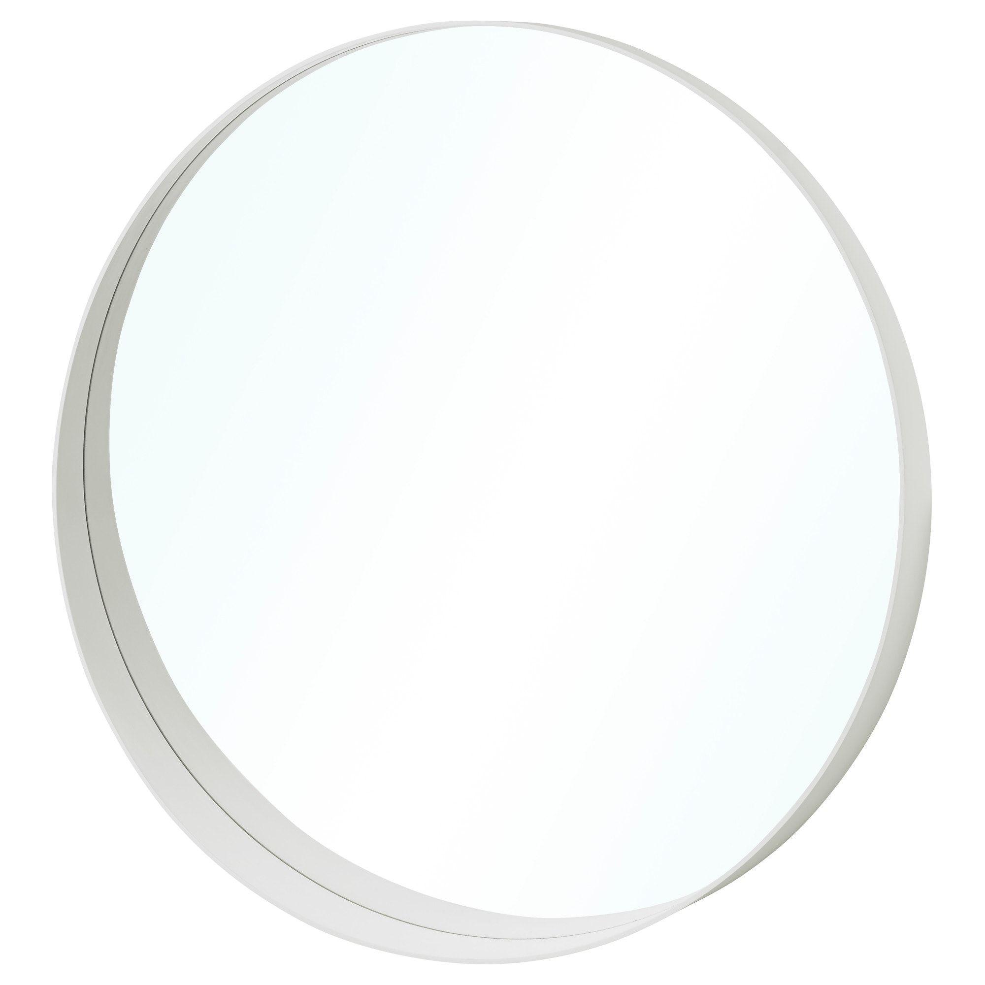 Rotsund Mirror White 31 1 2 Mirror Round White Mirror White Mirror