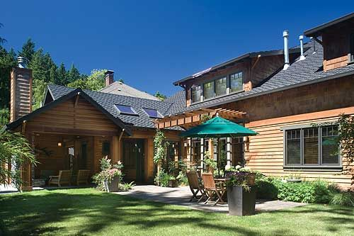 Plan W69144AM: Mountain, Luxury, Premium Collection, Craftsman, Sloping Lot, Northwest, Photo Gallery House Plans & Home Designs