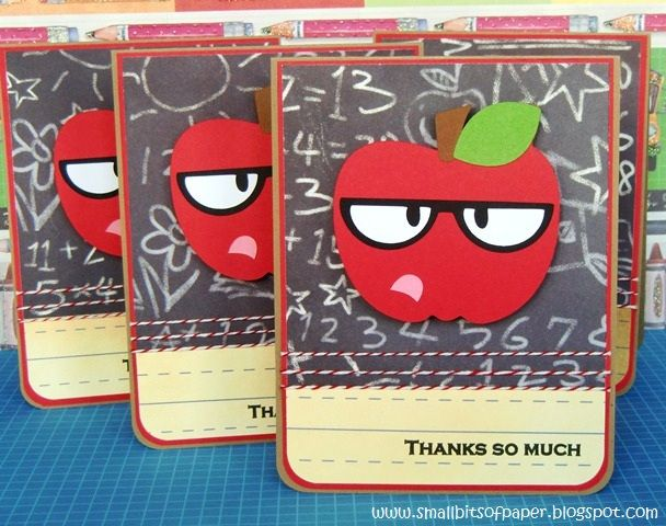 Small Bits of Paper: teacher cards