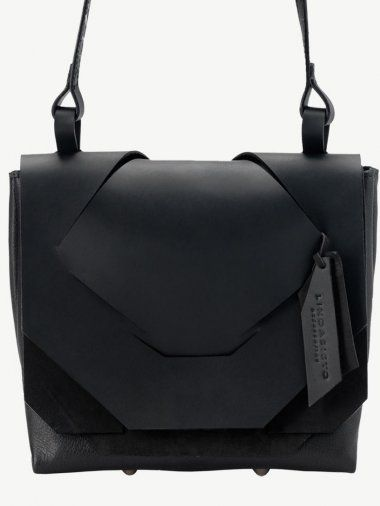 664596edf1 Mini Black on Black Slashed Bag