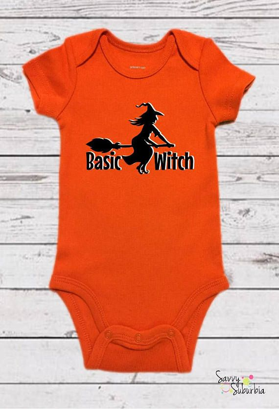 ea8767e06aa6 Basic Witch Baby Onesie 30 day countdown! It s finally October and ...