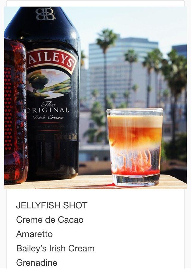 Jellyfish Shot Tipsy Bartender Bartender Tipsy Bartender Festive Drinks