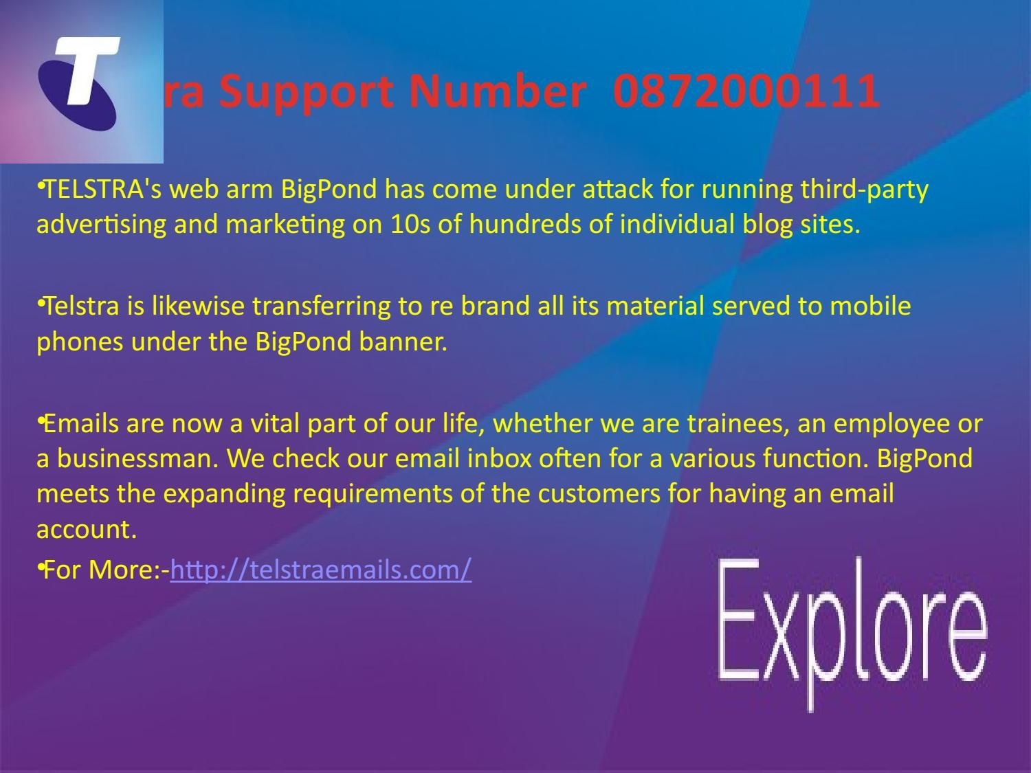 Telstra Support Number 0872000111 Supportive, Blog sites