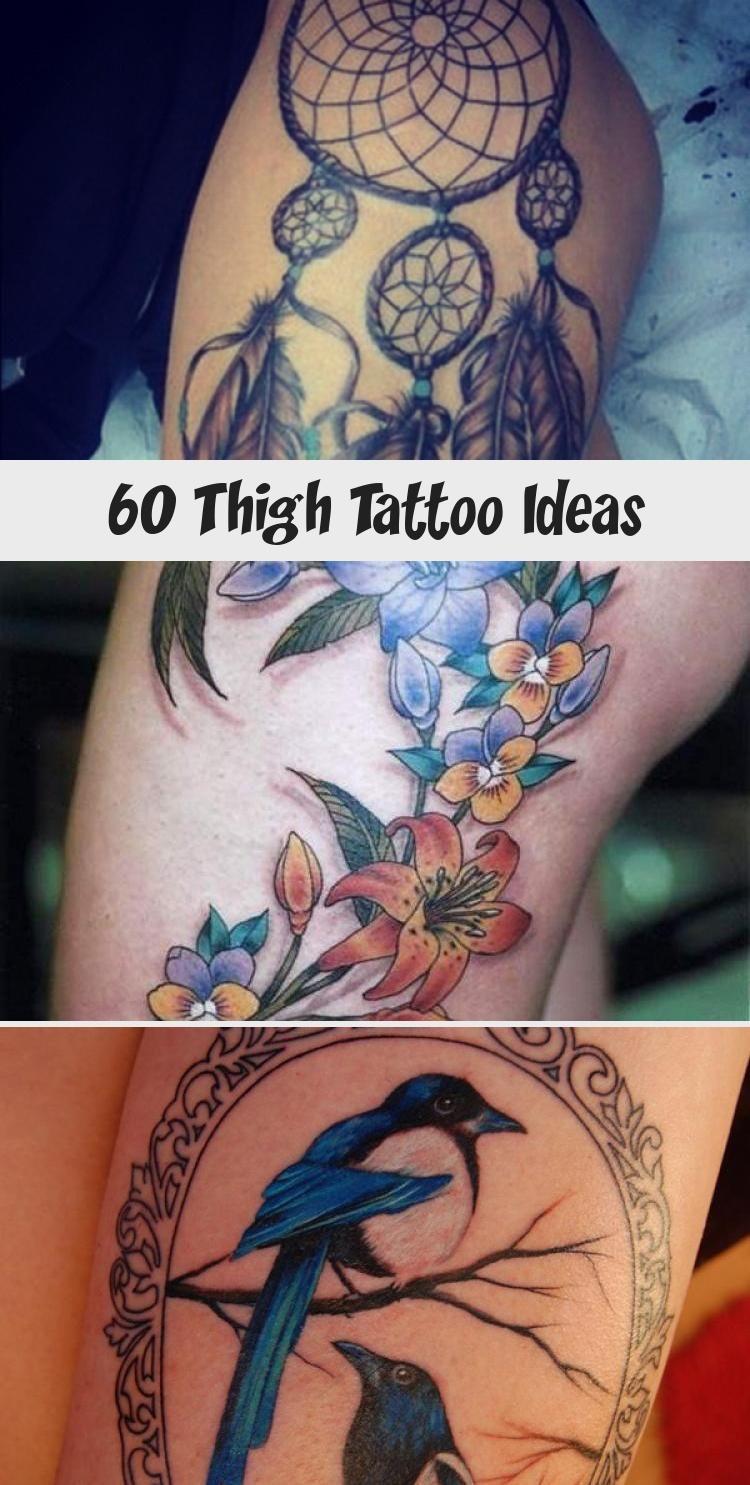 Photo of 55 Thigh Tattoo Ideas #ornamentaltattooVintage #ornamentaltattooSleeve #Barockor…
