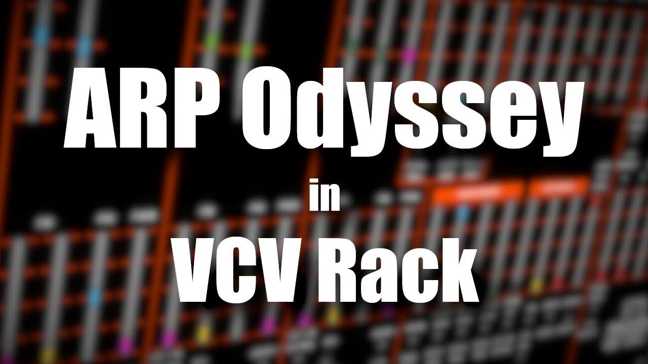 STS Odyssey - VCV Rack Tutorial | YouTube Videos in 2019