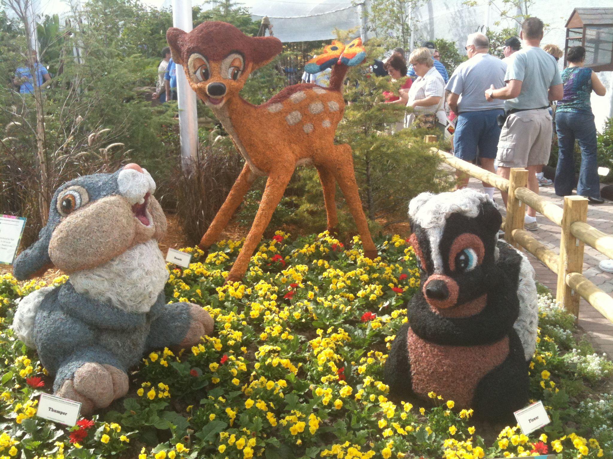 Attractive Disney Topiary Part - 11: Bambi Topiary