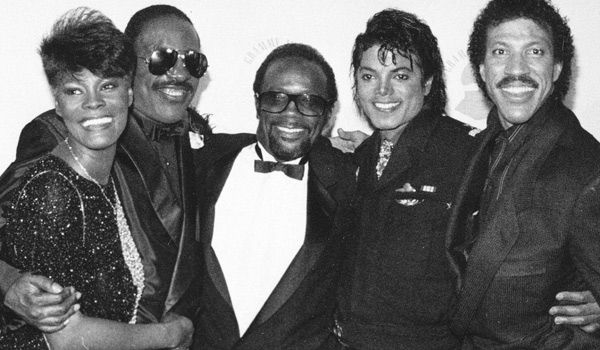 Dionne, Stevie, Quincy, Michael and Lionel