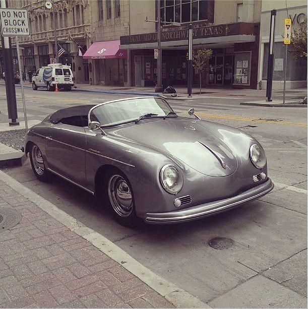 Silver Porsche 356: ポルシェ356, ヴィンテージカー, ポルシェ