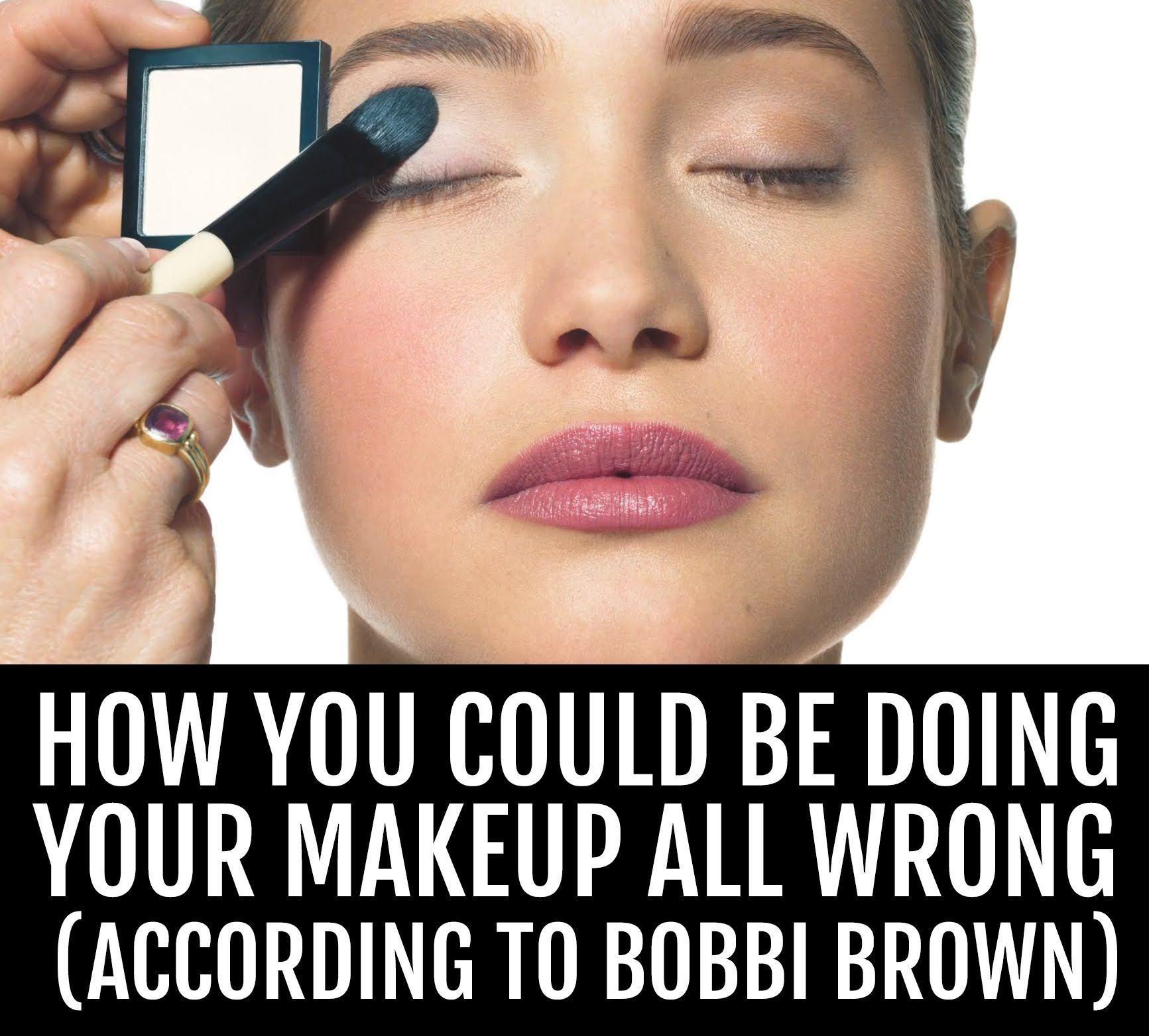 bobbi brown on makeup tips BeautyTipsNatural Bobbi