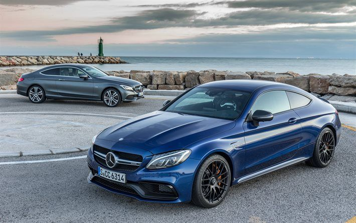 Mercedes Benz C Cl Coupe 2016 C205 Supercars Blue
