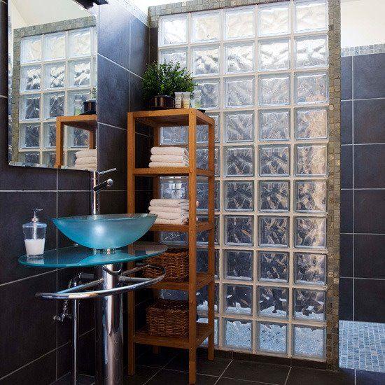 La separacion de regadera con lavabo me gusto lugares - Cortinas para tragaluz ...