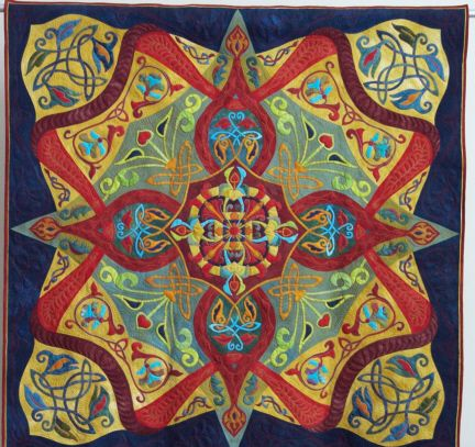 Twist An Original Quilt Made In The Style Of Ricky Tims Rhapsody Quilts Quilts Art Quilts Contemporary Quilts