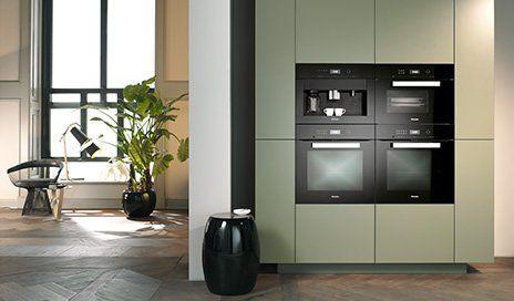 Miele PureLine Obsidianschwarz QubiQ I love these appliances - miele k chen einbauger te
