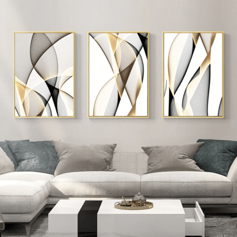 Contrasting Waves Canvas In 2020 Rooms Home Decor Childrens Room Decor Decor