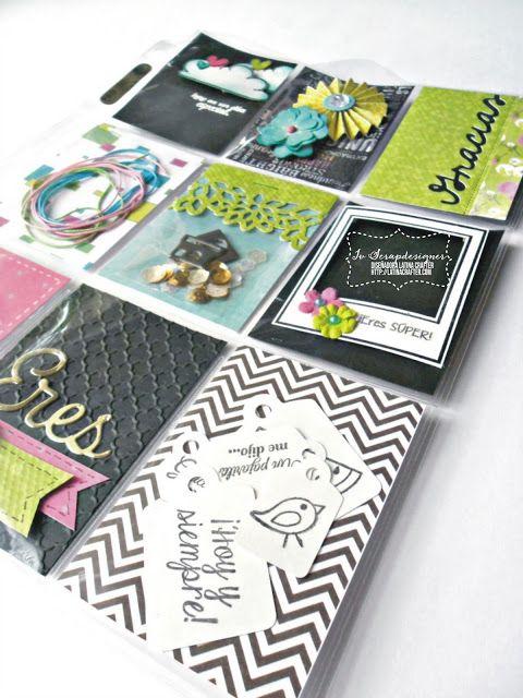 Latina Crafter - Sellos en Español: Desde el taller de Iv - Pocket Letters