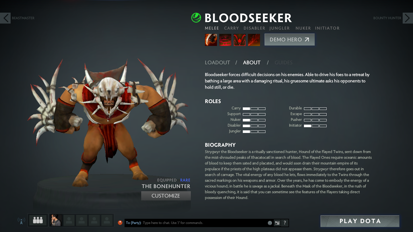 bloodseeker pro guide build dota 2 reborn 6 85 daily dota 2