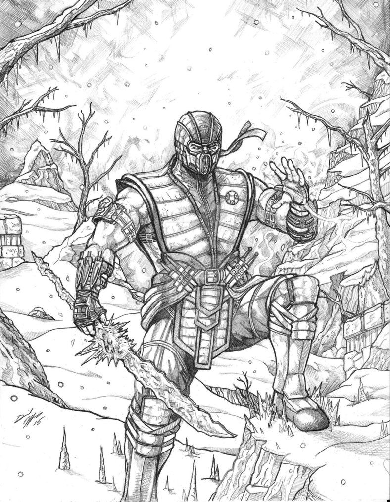 Mortal Kombat X Subzero by DanielJeffries Mortal kombat