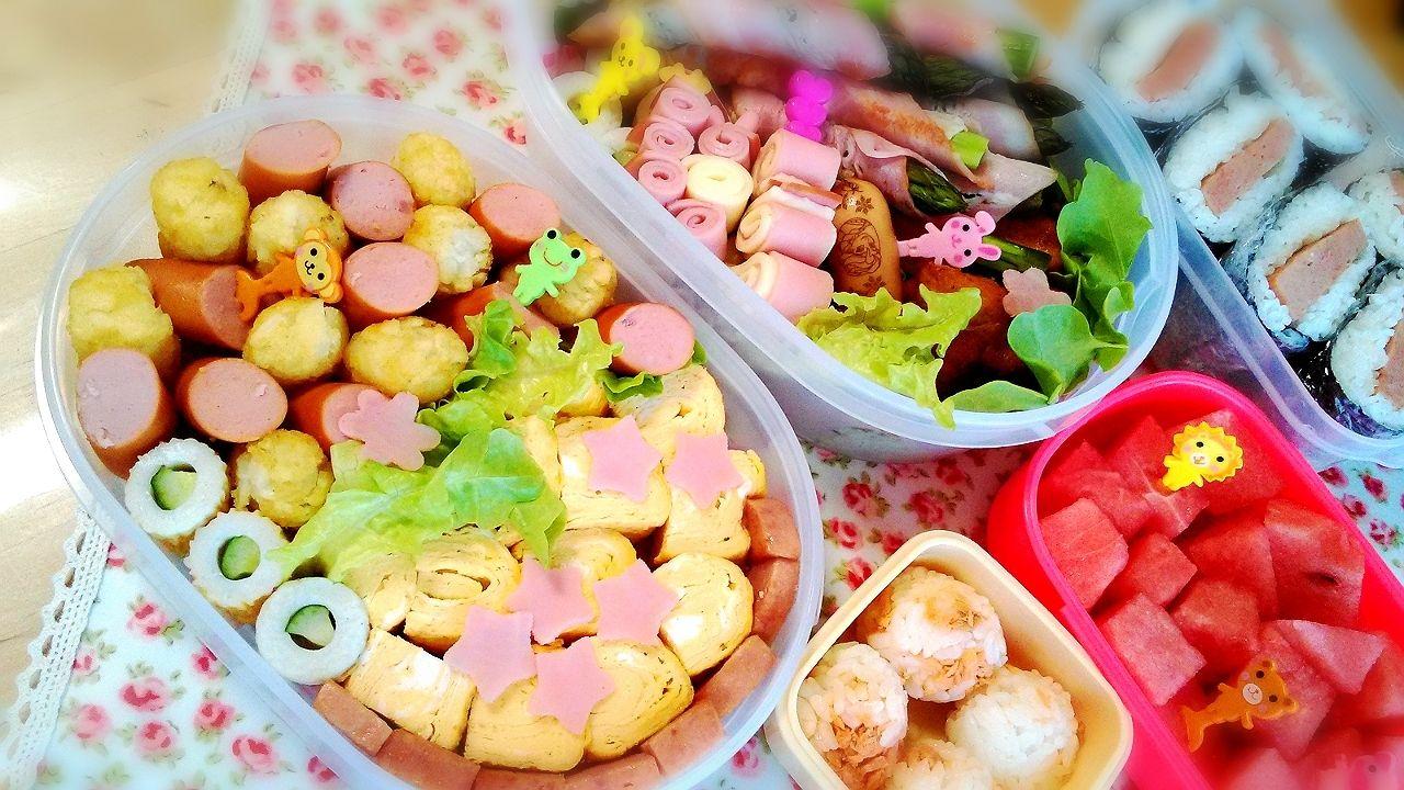 子供が喜ぶこと間違いなし♪ピクニックのお弁当【5選】 お弁当