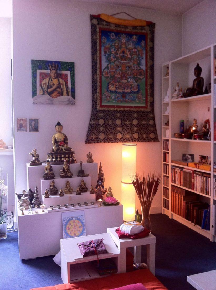 Nice 42 Meditation Room Ideas To Improve Your Life Nepali