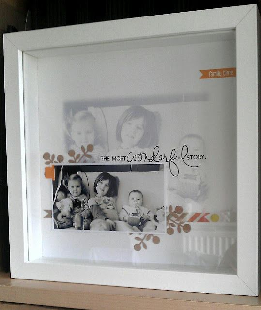 nice lo in a frame from ikea scrapbooking pinterest nice scrap and scrapbooking. Black Bedroom Furniture Sets. Home Design Ideas