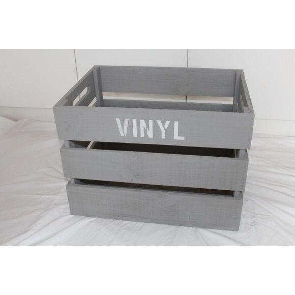 Vinyl Record 12 Inch Storage Crate Hardtofind Crate Storage Vinyl Storage Vinyl Record Storage