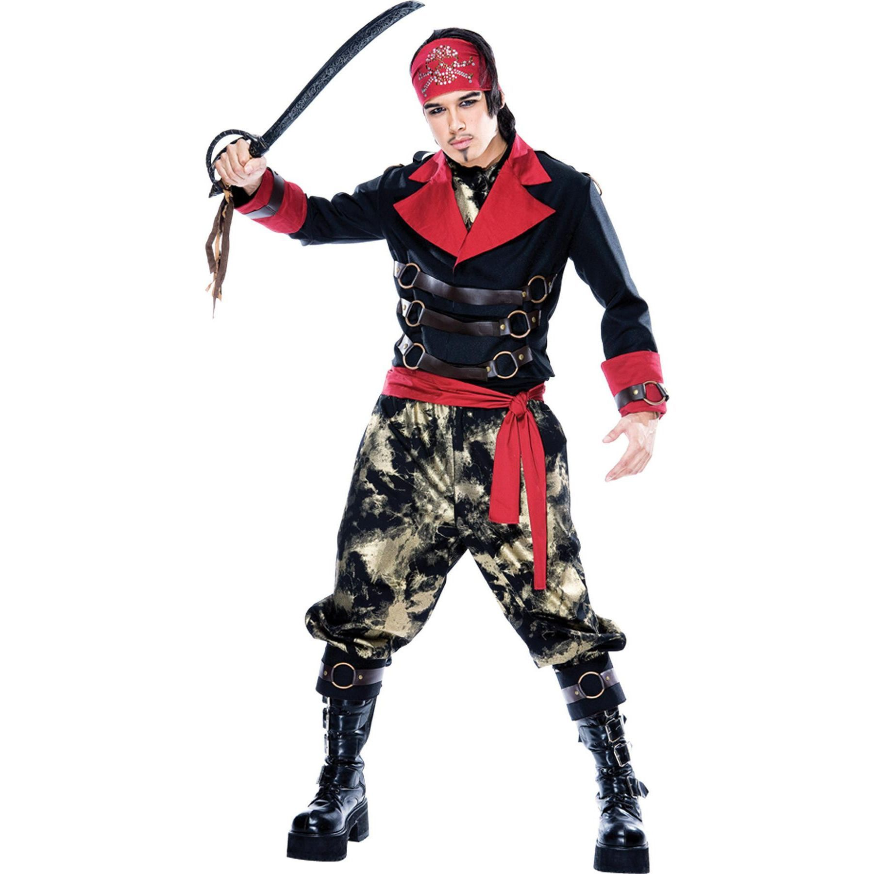 apocalypse pirate mens small adult pirate costumepirate halloween