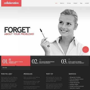 Financial Advisor Responsive Website Template Template and Website - financial advisor job description