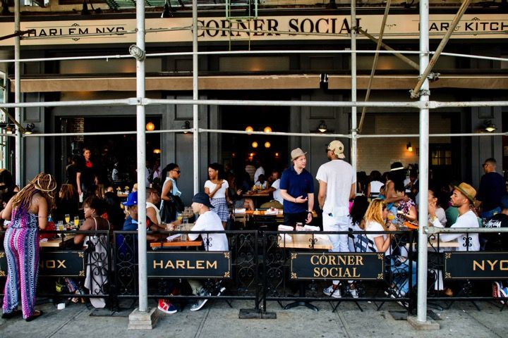41 Harlem Sidewalk And Garden Cafes Ideas Garden Cafe Harlem Sidewalk