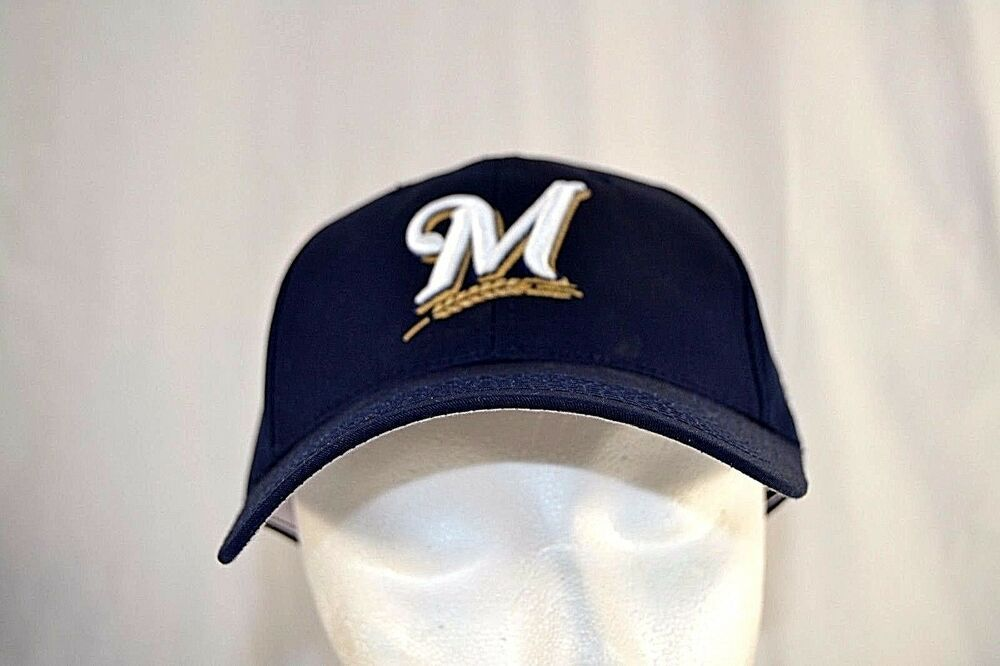 Milwaukee Brewers Blue Baseball Cap Adjustable ( MLB 11 # )  | eBay