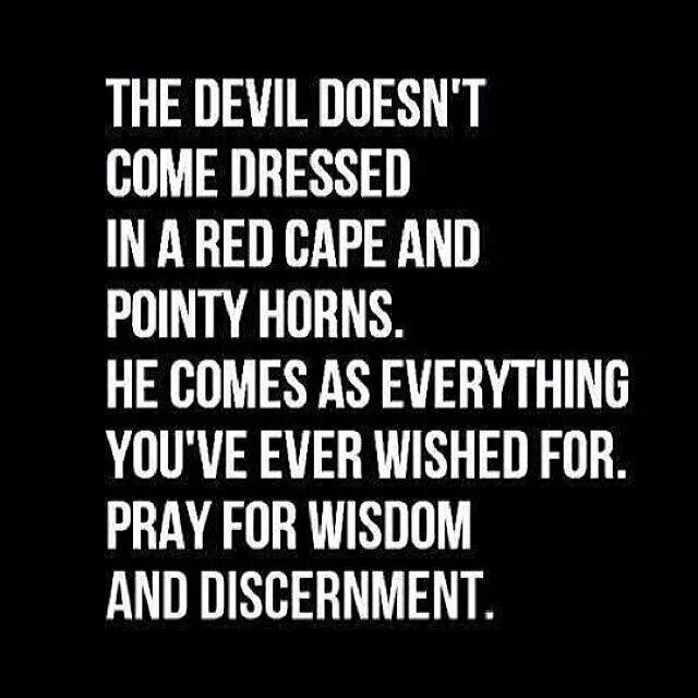 Wisdom & discernment