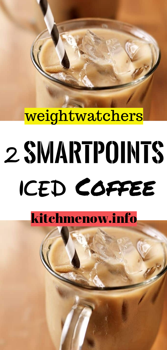 2 smartpoints Iced Coffee Almond milk coffee recipes