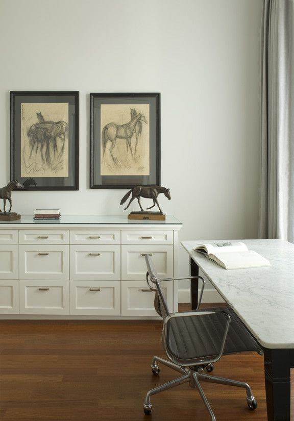 Gorgeous Office Credenza In Spaces Traditional With Office