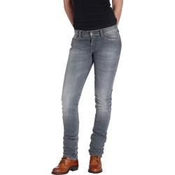 Rokker The Donna Grey Damenjeans Grau 27 Rokkerrokker