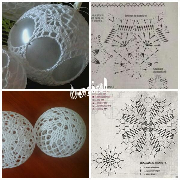 Pin By Andra On Bombki Szydelkowe Christmas Crochet Patterns Christmas Crochet Crochet Christmas Ornaments